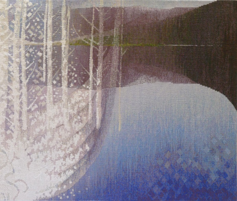 The White Boat of Winter - detail 3